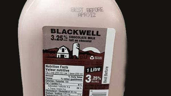Chocolate Milk: 3.25% 1L