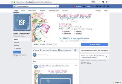 ISP's Social Media Page