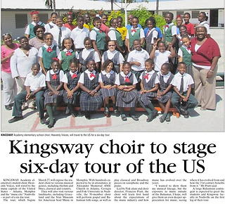 Kingsway press release published in
