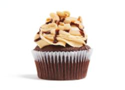 Toffee Caramel Cupcake