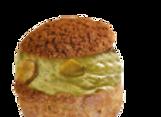 Pistachio Choux Pastry