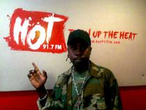 Rapper, Think visits HOT 91