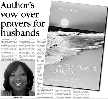 Tribune feature on Author, Inishka Lloyd