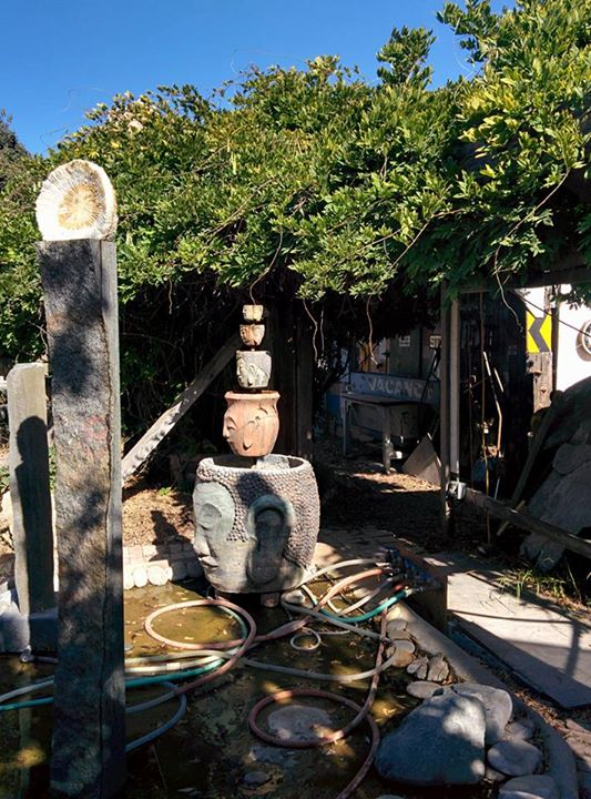 the Stone sculptures at Art City