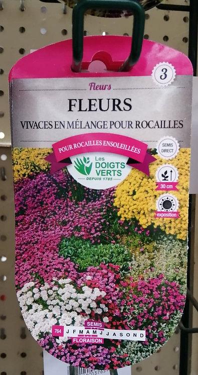 Fleurs vivaces en mélange pour rocailles n°3