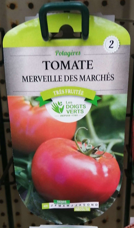 Tomate merveille des marchés n°2