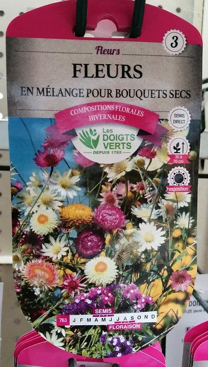 Fleurs en mélange pour bouquets secs n°3