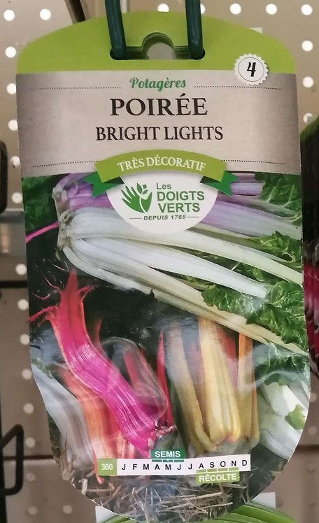 Poirée bright lights n°4