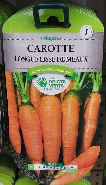 Carotte longue lisse de Meaux n°1