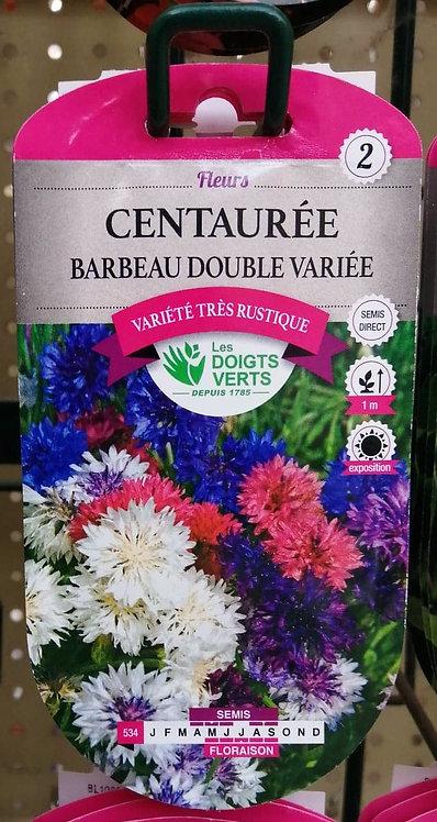Centaurée Barbeau double variée n°2