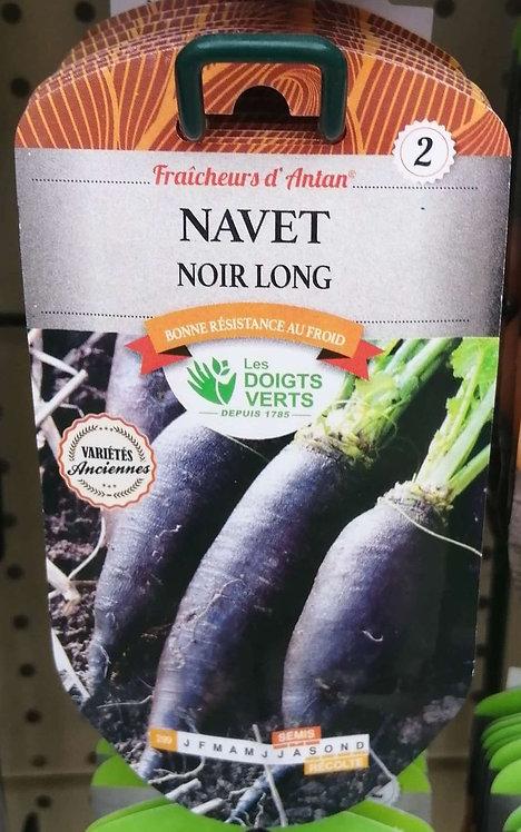 Navet noir long n°2