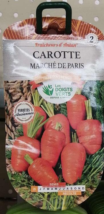 Carotte marché de Paris n°2