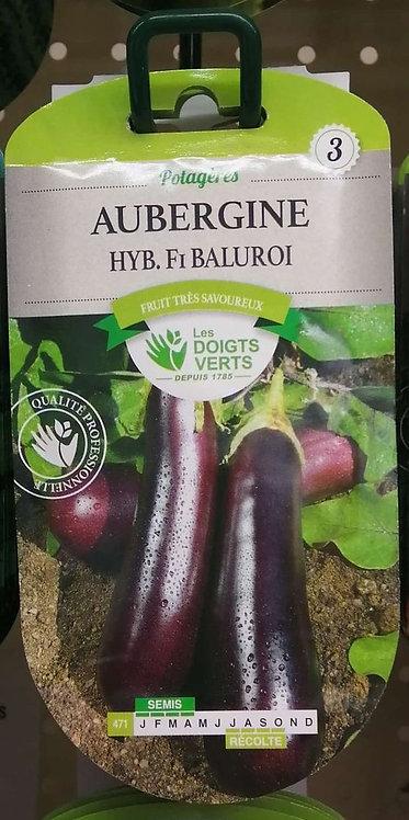Aubergine hyb F1 Baluroi n°3