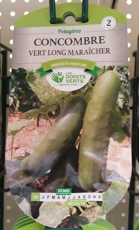Concombre vert long maraîcher n°2