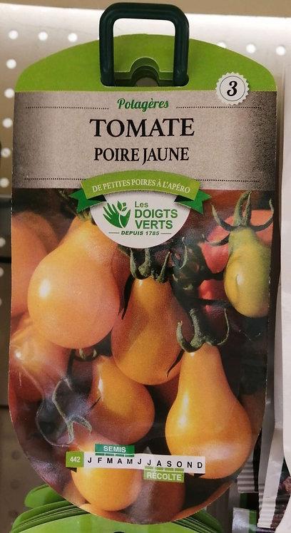 Tomate poire jaune n°3