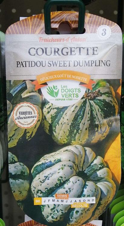 Courgette patidou sweet dumpling n°3