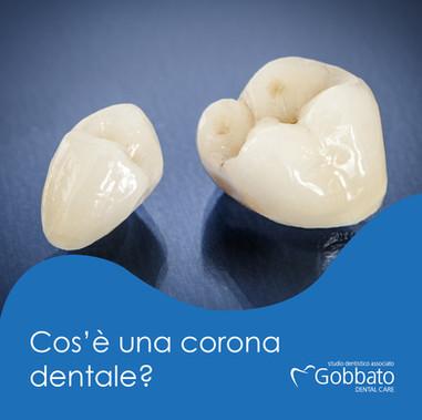 Le corone dentali