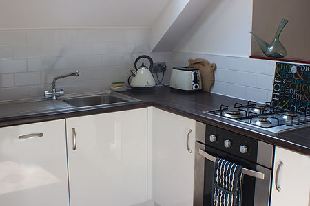 Kitchen Sink, Arbroath Holiday Cottage