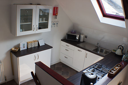 Kitchen, Arbroath Holiday Cottage