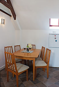Kitchen Table, Arbroath Holiday Cottage