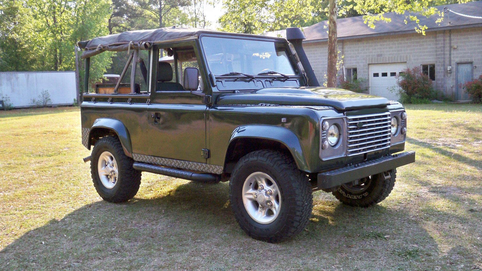 Osprey Custom Cars   Land Rover Restoration   Custom Land Rovers