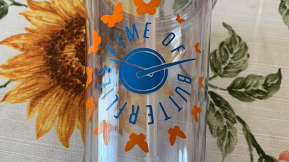 Time Of Butterflies Sippie Cup