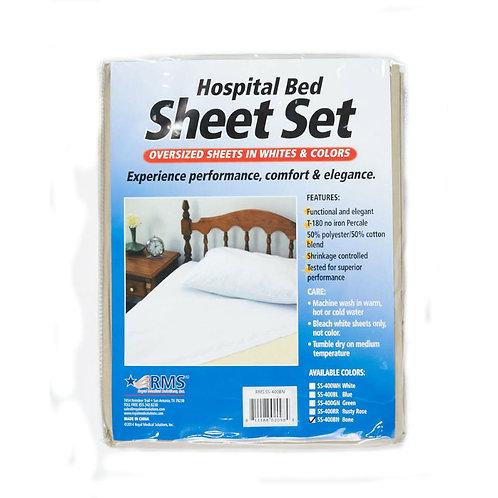 HOSPITAL BED SHEETS (2 SETS)