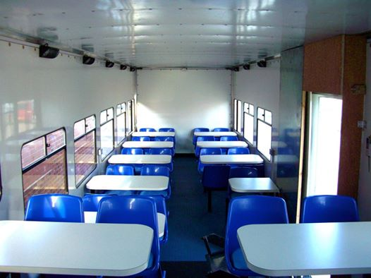 Dining Trailer Internal