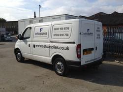 Set Supplies - diesel deliveries van