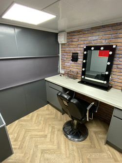 Industrial Style Individual Make Up Rooms