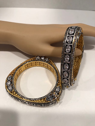 Indian Faux Diamond Bangles