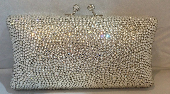 All Crystal Evening Bag