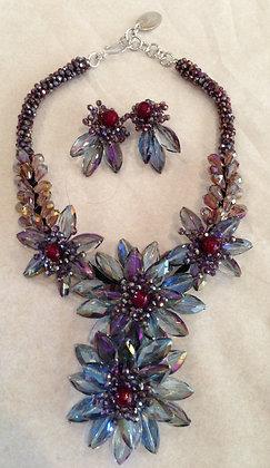 AB, Agate Gemstone Flowers