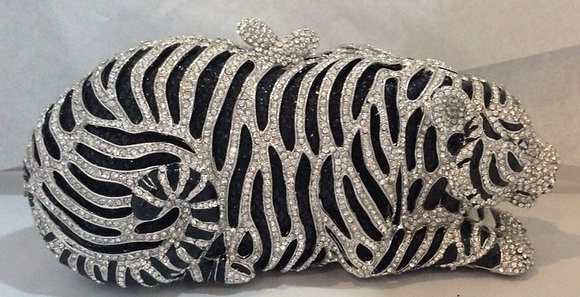 Panther evening bag