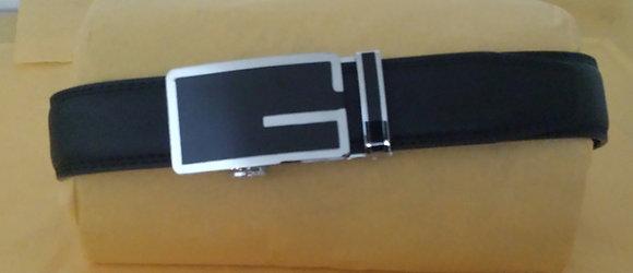 "Fashion Adjustable Men's Belts w/ Gift Box ""G"""