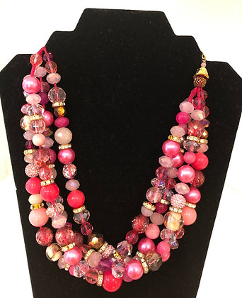 Gorgeous Vintage Beads Neck