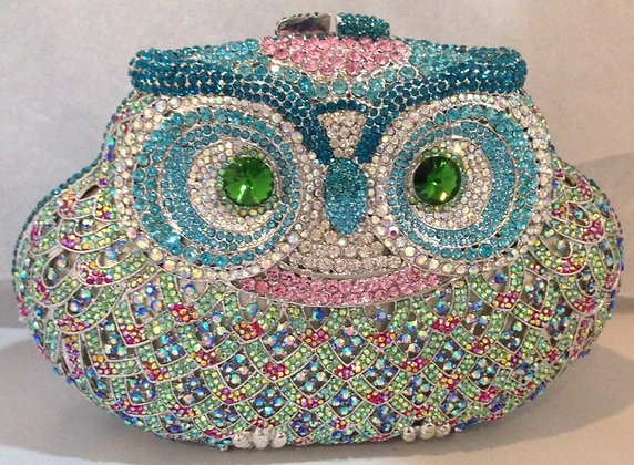 Owl Evening Bag