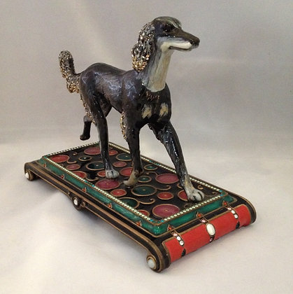 Jay Strongwater Rare Art Deco Greyhound