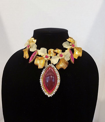 Vilaiwan Museum Inspired Showstopper Necklace