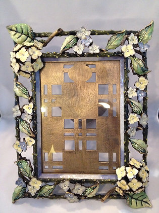 Jay Strongwater Faye Hydrange Flowers frame