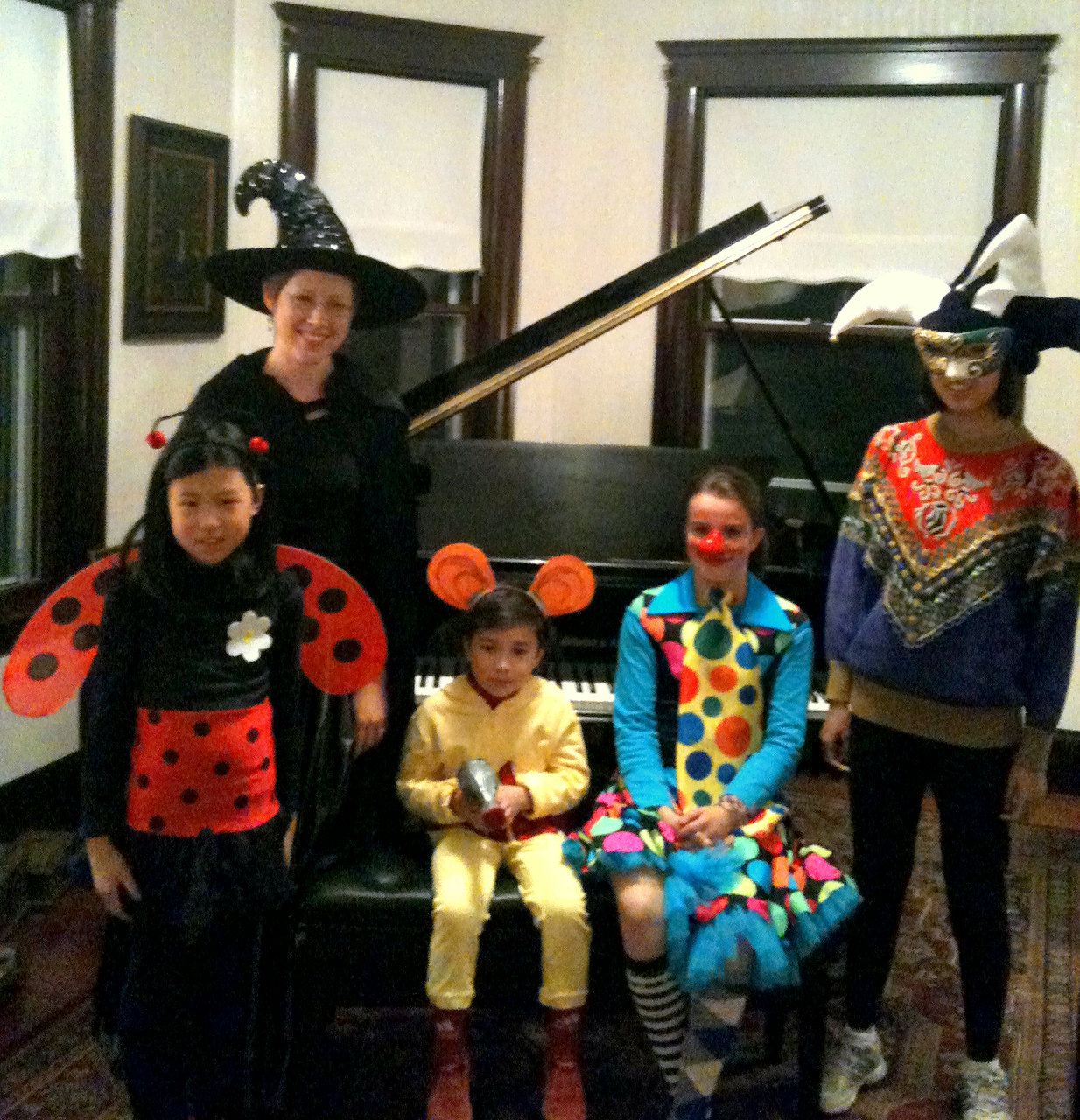 Halloween Piano Party 2011