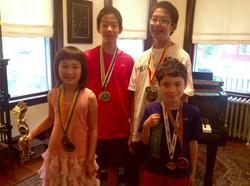 Pian-Olympics winners!