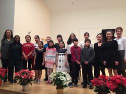 December 2017 Recital