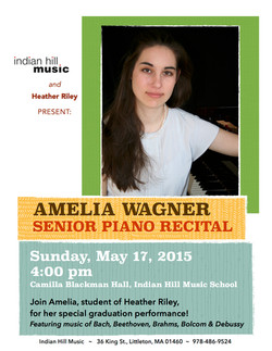 Amelia - Senior Recital 2015