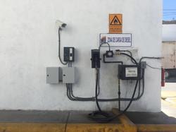Gasolinera Provisional de una mangue