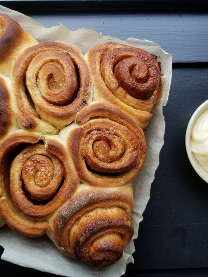 Small Batch Cinnamon Buns