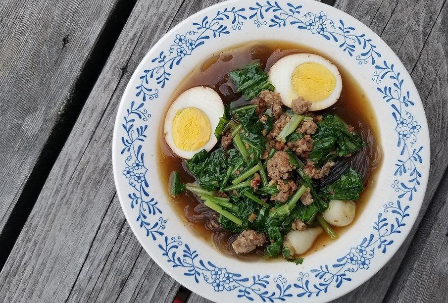 pork and turnip soup