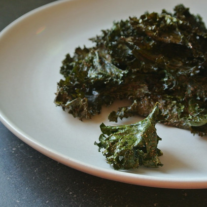 kale chips - oven