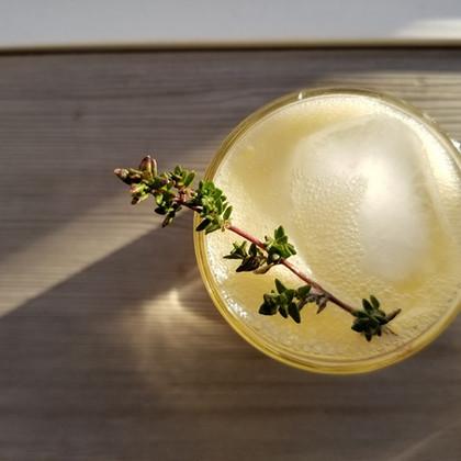 Bourbon Thyme Cocktail