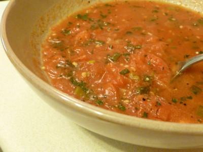 Lazy Tomato Soup